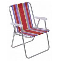 Cadeira Alta Aluminio - 002101 - Mor