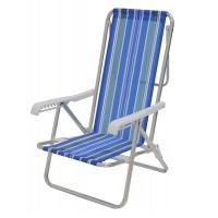 Cadeira Reclinável 8 Posições alumínio - 002104 - Mor