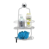 Porta Shampoo Duplo Cromado - 069 - Niquelart