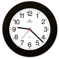 Relógio de Parede Saturno Preto com Mostrador Branco - 5384 - Haller