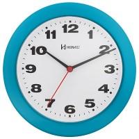 Relógio de Parede Quartz Azul - 6103-267 - Herweg