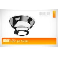 Taça Inox com Pé Avulsa 150 ml - 0501 - Megainox