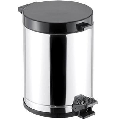 Lixeira em Aço com Pedal e Recipiente Plástico - 3507 - Viel