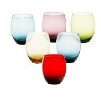 Jogo de Copos de Whisky 450 ml 6 peças de Vidro Multicoloridos - 311005293 - GS Internacional