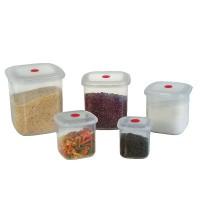 Conjunto de 5 Potes Quadrados VAC Freezer - 490/2C - Sanremo