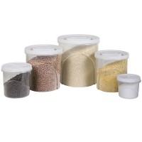 Conjunto Clic Pote Rosca Grande 5 Peças - 4115  - Plasútil
