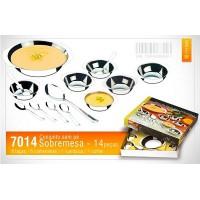 Conjunto de Taças para Sobremesa 14 peças - 7014 - Megainox