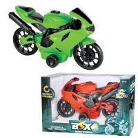 Moto Street BSX-1 com Fricção - 375 - BSTOYS