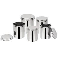 Conjunto para Mantimentos 5 peças - GX0078 - Marcamix