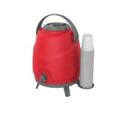 Botijão Estacionário Aspen 9 Litros Vermelho - 09000.0017.17 - Soprano