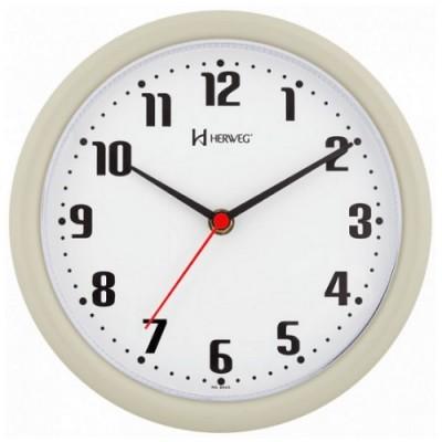 Relógio de Parede Cinza - 6102-24 - Herweg