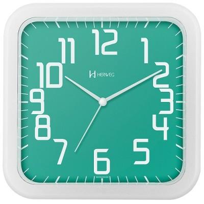 Relógio de Parede Moderno Verde - 6667-283 - Herweg