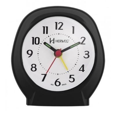 Relógio Despertador Quartz Preto - 2634-034 - Herweg