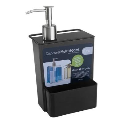 Dispenser Multi-Retro 600ml Coza Preto - 20719/0008 - Brinox