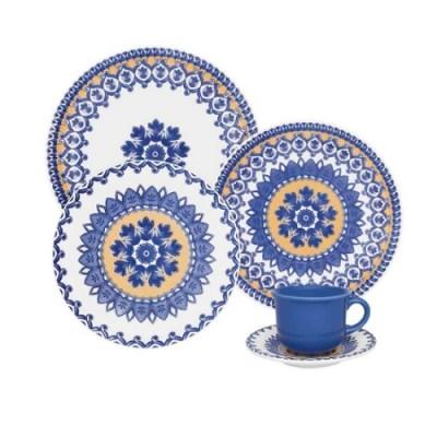 Aparelho de Jantar Chá 20 peças Floreal La Carreta - J613-6788 - Oxford