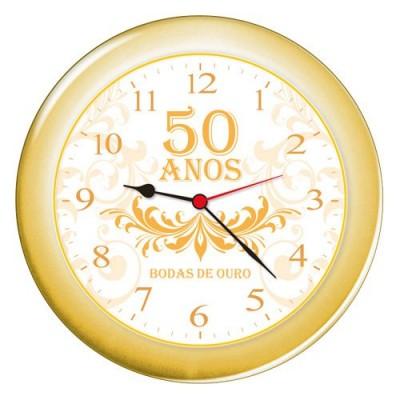 Relógio de Parede Eclipse Bodas de Ouro - 5403.27 - Haller