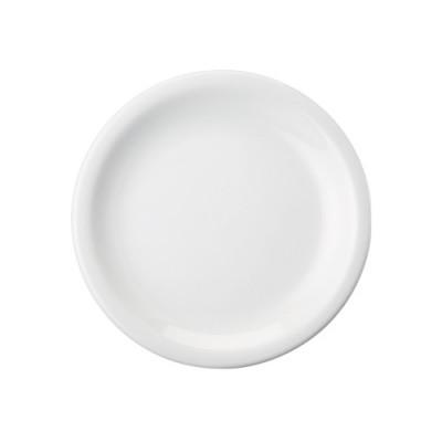 Prato Raso 26cm PROTEL Branco MOD-073/DEC-0000 - 0017-5-026-073-058-0000 - Schmidt