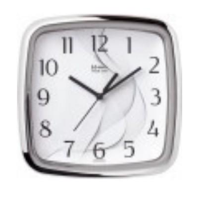 Relógio de Parede Cromado Quartz- 660026-28 - Herweg