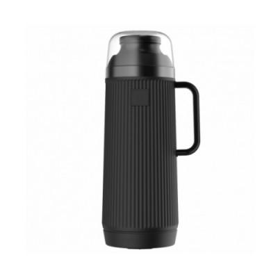 Garrafa Térmica Mundial Preta Rolha Clean 1 Litro - 54971 - TERMOLAR