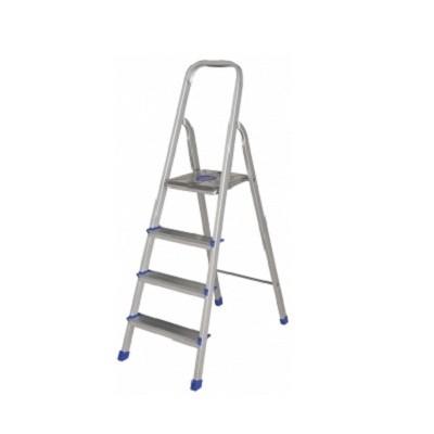 Escada 4 Degraus Alumínio - 5102 - Mor