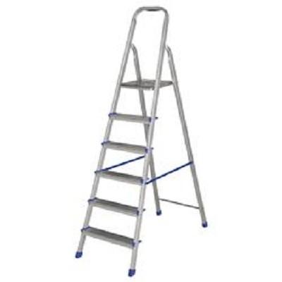 Escada de Aluminio 6 Degraus - 5104 - Mor