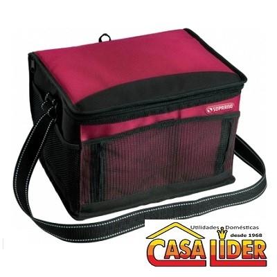 Bolsa Térmica Tropical 12 Litros Vermelho - 09420.7953.07 - Soprano