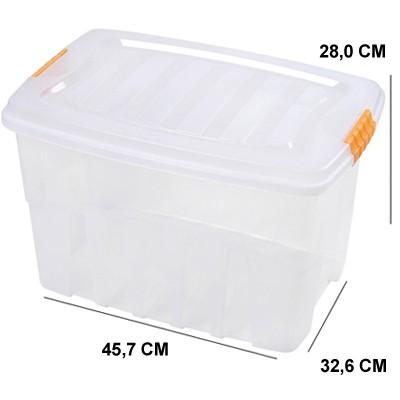 Caixa Organizadora Gran Box 29 Litros - 2759 - Plasútil