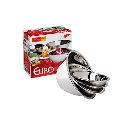 Conjunto de Tigelas Deep bowls 4 peças GIFT - IN9376 - Euro Home