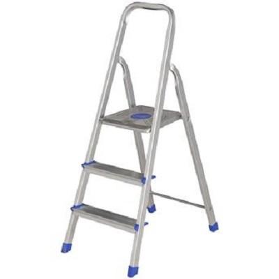 Escada Alumínio 3 Degraus - 5101 - Mor