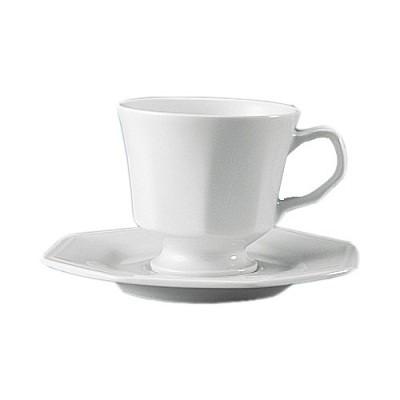 Xícara de Café com Pires Prisma Branco - 077/0000 - Schmidt