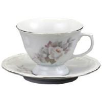 Xícara de Chá com Pires Vitória - DC0397 - Schmidt
