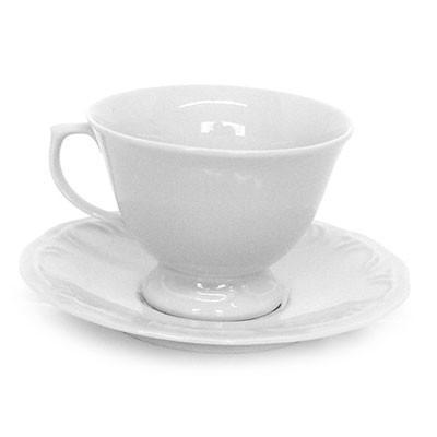Xícara de Chá com Pires Pomerode Alto Relevo -114/0000 - Schmidt