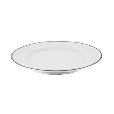 Prato de Sobremesa com Filete Prateado - M228/D0012 - Schmidt