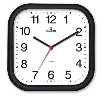 Relógio de Parede Epcot Preto e Branco - 311/5501.02 - Haller