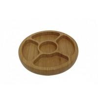 Gamela com 5 Divisórias Bamboo - 3365 - Mor