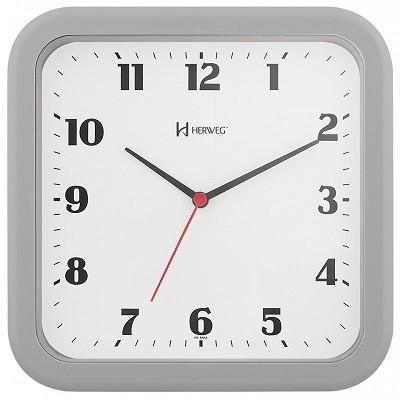 Relógio de Parede Moderno Cinza - 6145-024 - Herweg