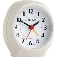Relógio Despertador Quartz Branco - 2634-129 - Herweg