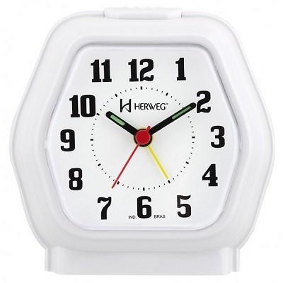 Relógio Despertador Quartz - 2635-021 - Herweg