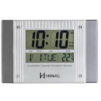 Relógio de Parede Digital Moderno - 6401-071 - Herweg