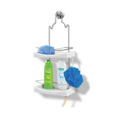 Porta Shampoo Duplo Cromo Colors - 349 - Niquelart