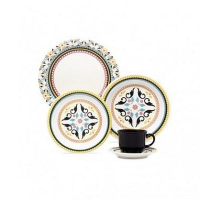 Aparelho de Jantar e Chá Floreal Luiza 30 peças - J591-6750 - Oxford