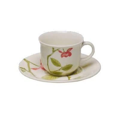 Xícara de Chá com Pires 16,5 cm Biona Beauty - N065148110 - Oxford