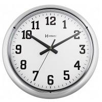 Relógio de Parede Cromado Liso - 6128-028 - Herweg