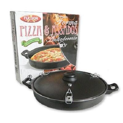 Forma para Pizza e Assados Antiaderente 28cm - 28T - Fulgor