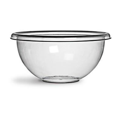 Saladeira Crystal Redonda 7,8 Litros Transparente - 440 - Niquelart