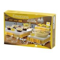 Conjunto de Tigelas em Vidro para Sobremesa 7 peças Emotions - 20972 - Wheaton Brasil
