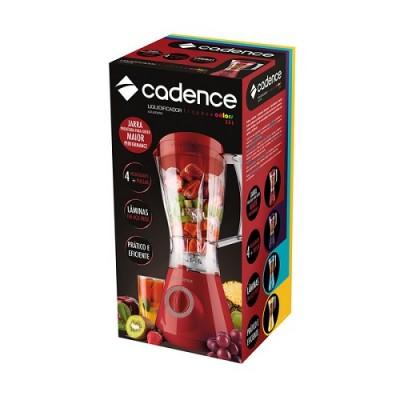 Liquidificador Trapeze Colors Vermelho 350W 127V - LIQ351-127 - Cadence
