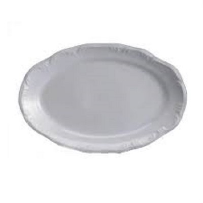 Travessa Porcelana Oval Pomerode 36 cm Rasa - MD-114/Dec-0000 - Schmidt