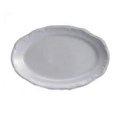 Travessa Porcelana Oval Pomerode 36 cm Rasa - MD-114/Dec-0000 - Schmidt