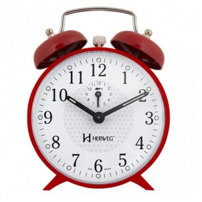 Relógio Despertador Mecânico - 2206 - Herweg